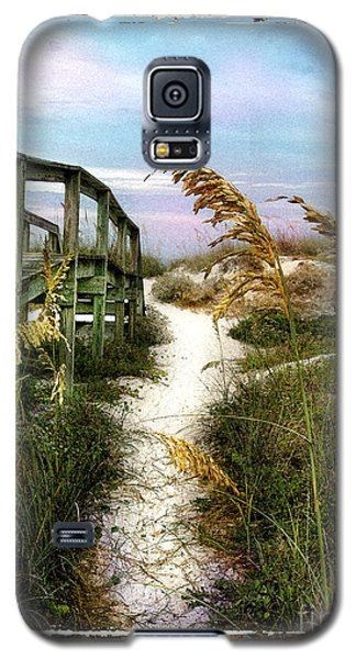 Seaoats Path Galaxy S5 Case by Linda Olsen