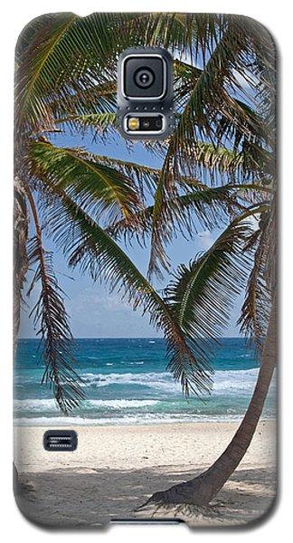 Serene Caribbean Beach  Galaxy S5 Case
