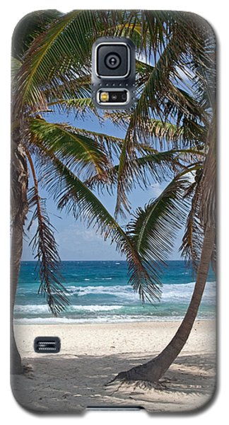 Serene Caribbean Beach  Galaxy S5 Case