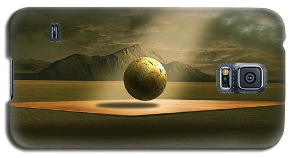 Galaxy S5 Case featuring the digital art Shining by Franziskus Pfleghart