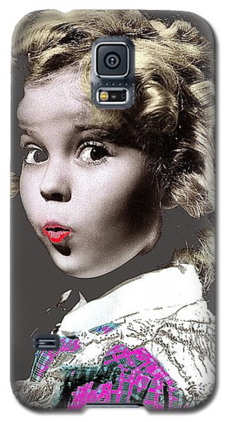 Shirley Temple Publicity Photo Circa 1935-2014 Galaxy S5 Case by David Lee Guss