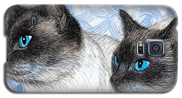 Siamese Cats Galaxy S5 Case