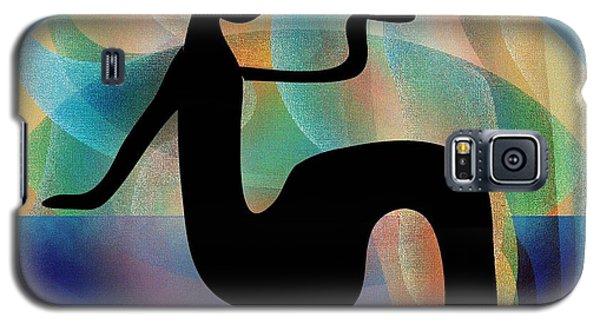 Galaxy S5 Case featuring the digital art Silhouette by Iris Gelbart
