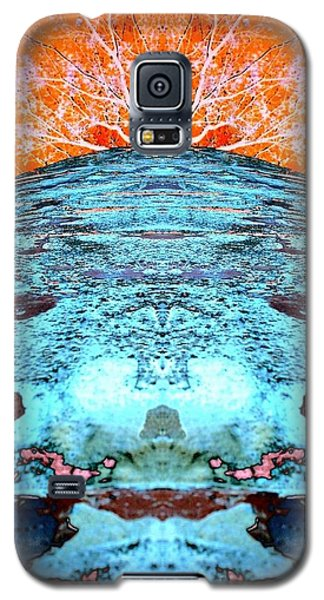 Silo Abstract Galaxy S5 Case by Karen Newell