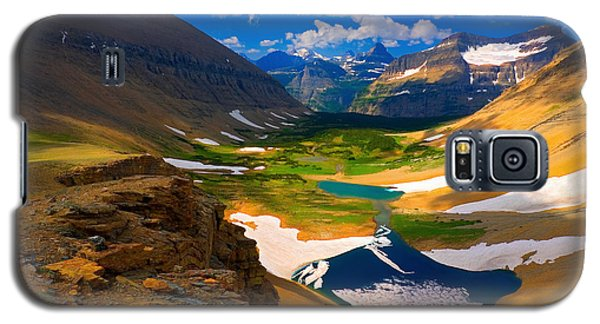 Galaxy S5 Case featuring the photograph Siyeh Pass by Aaron Whittemore