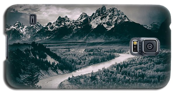 Snake River In The Tetons - 1930s Galaxy S5 Case by Mountain Dreams