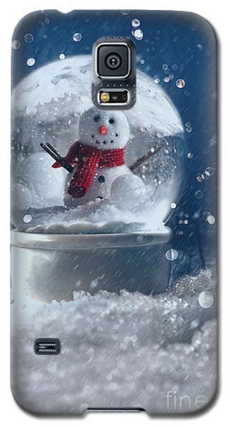 Snow Globe In A Snowy Winter Scene Galaxy S5 Case