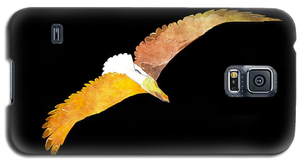 Soaring Eagle Galaxy S5 Case by The Art of Marsha Charlebois