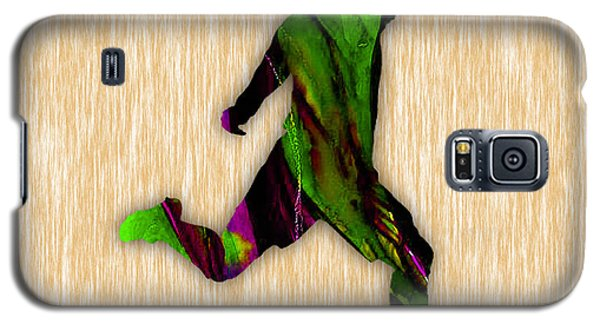 Soccer Player Galaxy S5 Case by Marvin Blaine