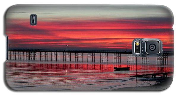 Southend Pier Sunset Galaxy S5 Case