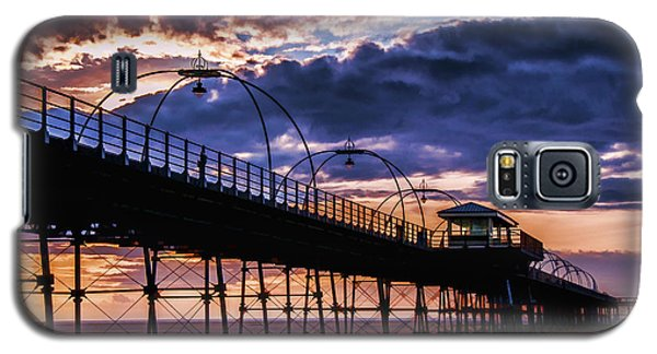 Southport Pier At Sunset Galaxy S5 Case