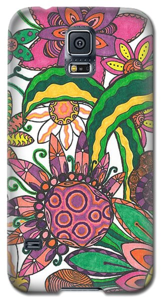 Galaxy S5 Case featuring the drawing Spring Fever by Jill Lenzmeier
