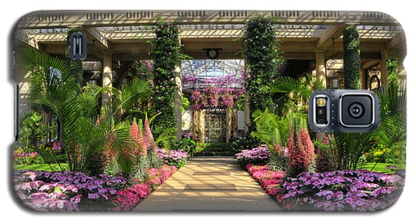 Galaxy S5 Case featuring the photograph Springtime At Longwood Gardens by Dan Myers