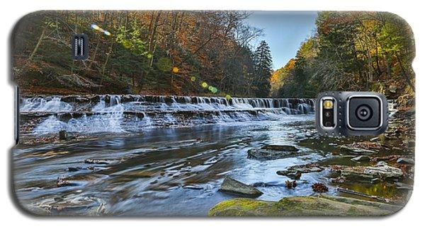 Squaw Rock - Chagrin River Falls Galaxy S5 Case