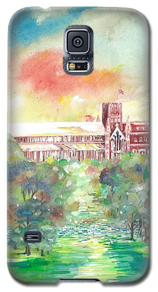 St Albans Abbey - Sunset Galaxy S5 Case by Giovanni Caputo