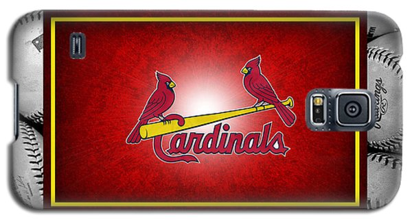 Bat Galaxy S5 Case - St Louis Cardinals by Joe Hamilton