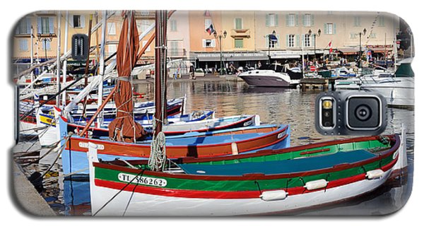 Galaxy S5 Case featuring the photograph St. Tropez - France by Haleh Mahbod