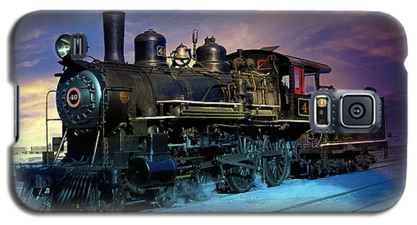 Steam Engine Nevada Northern Galaxy S5 Case