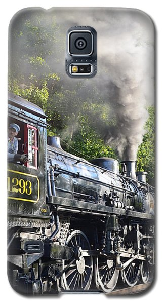 Steam Train Iv Galaxy S5 Case