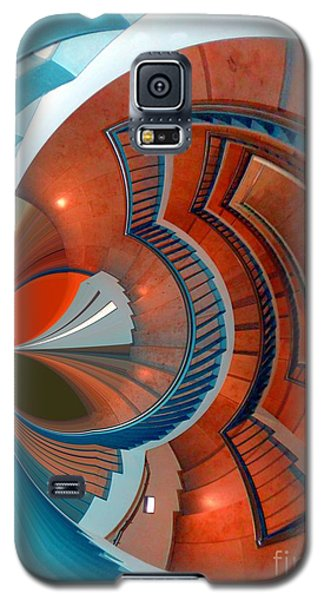 Galaxy S5 Case featuring the digital art Step by Nico Bielow