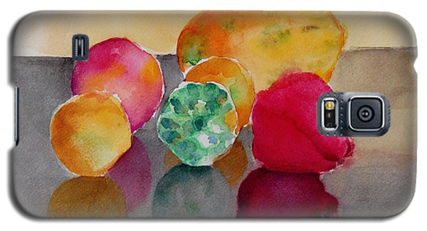Galaxy S5 Case featuring the painting Still Life Fruits by Geeta Biswas