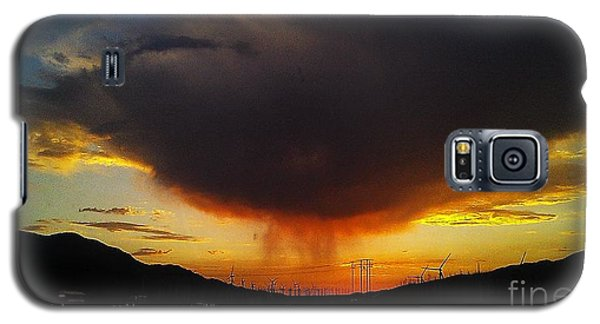 Galaxy S5 Case featuring the photograph Storms Coming by Chris Tarpening