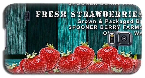 Strawberry Farm Galaxy S5 Case by Marvin Blaine