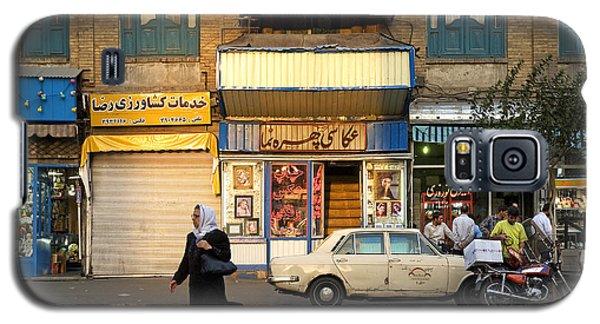 Street Scene In Teheran Iran Galaxy S5 Case