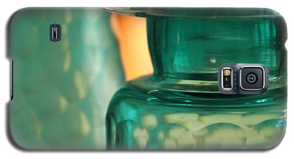 Galaxy S5 Case featuring the photograph Studies In Glass  by Lynn England