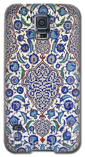 Sultan Selim II Tomb 16th Century Hand Painted Wall Tiles Galaxy S5 Case by Ralph A  Ledergerber-Photography