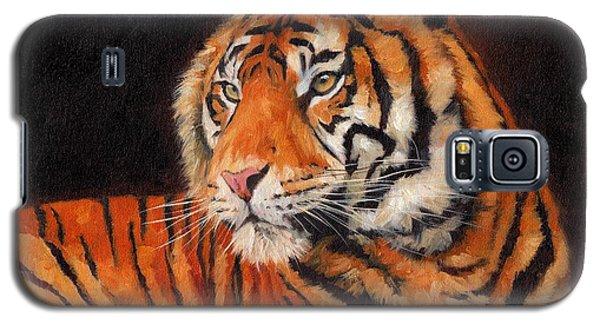 Sumatran Tiger  Galaxy S5 Case by David Stribbling