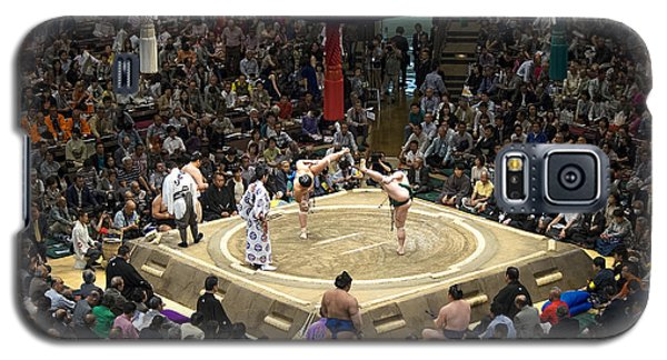 Sumo Summer Tournament 2014 Tokyo Galaxy S5 Case by For Ninety One Days
