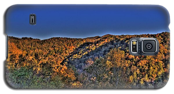 Galaxy S5 Case featuring the photograph Sun On The Hills by Jonny D