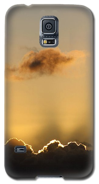 Sun Rays And Dark Clouds Galaxy S5 Case
