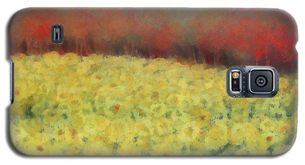 Sunflower Days Galaxy S5 Case