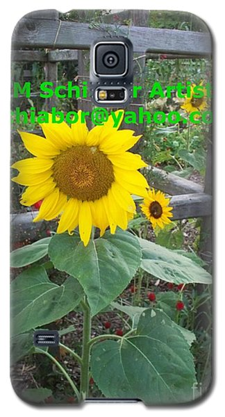 Sunflower Galaxy S5 Case by Eric  Schiabor