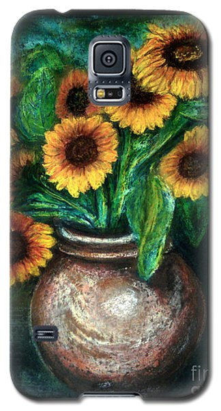 Sunflowers Galaxy S5 Case by Jasna Dragun