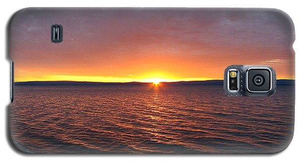 Sunrise At Lake Khuvsgul Galaxy S5 Case