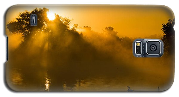 Sunrise At The Sepulveda Dam Wildlife Reserve Galaxy S5 Case