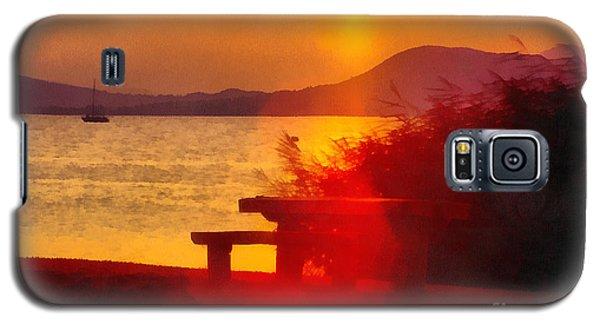 Sunrise In The Balaton Lake Galaxy S5 Case