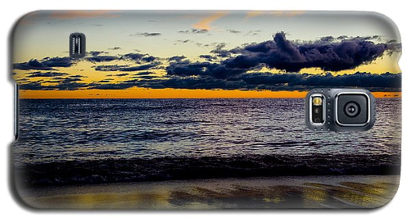 Galaxy S5 Case featuring the photograph Sunrise Lake Michigan September 14th 2013 001 by Michael  Bennett