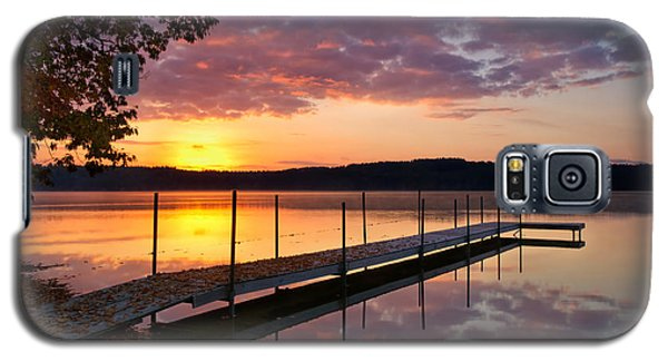 Sunrise On Keoka Lake Galaxy S5 Case