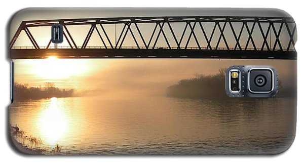 Sunrise Over The Ohio Galaxy S5 Case