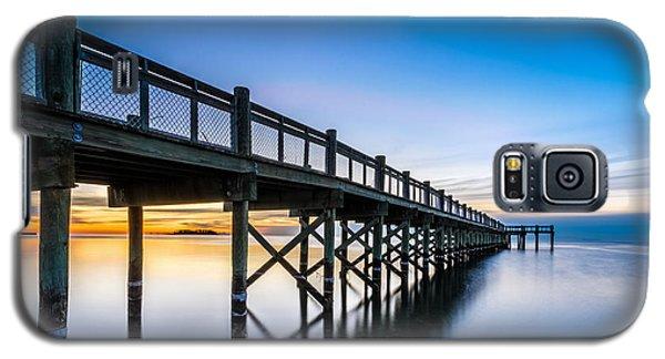 Sunrise Under The Boardwalk Galaxy S5 Case