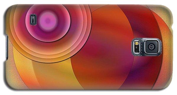 Galaxy S5 Case featuring the digital art Sunsational by Iris Gelbart