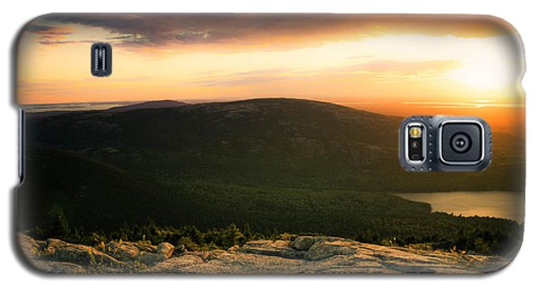 Sunset Acadia National Park Maine Galaxy S5 Case