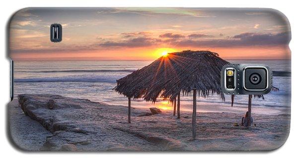 Sunset At Windansea Beach Galaxy S5 Case