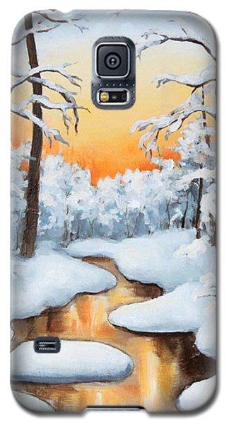 Sunset Creek Galaxy S5 Case
