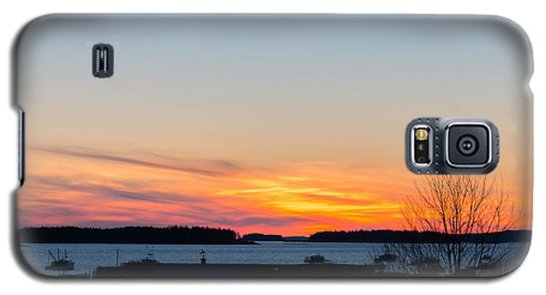 Sunset Down East Maine  Galaxy S5 Case