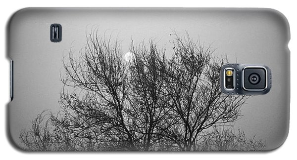 Galaxy S5 Case featuring the photograph Sunset In Black And White by Mohamed Elkhamisy